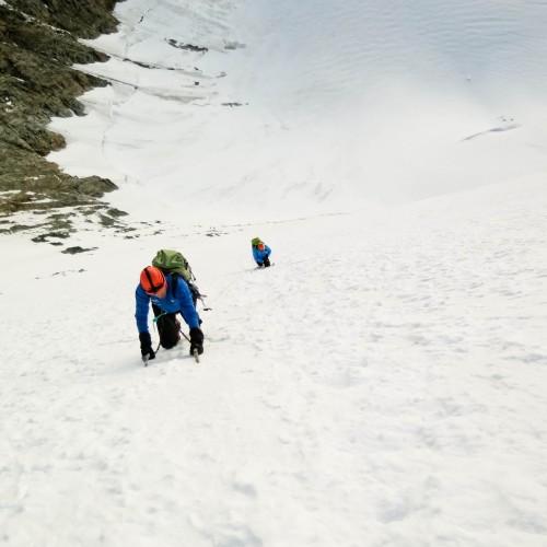 Face Nord Lenzspitze & Traversée Nadelhorn
