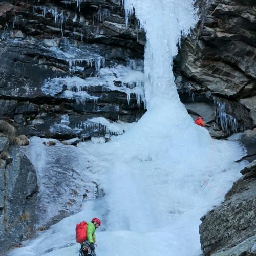 Cascade de glace - Cogne (Décembre 2015)