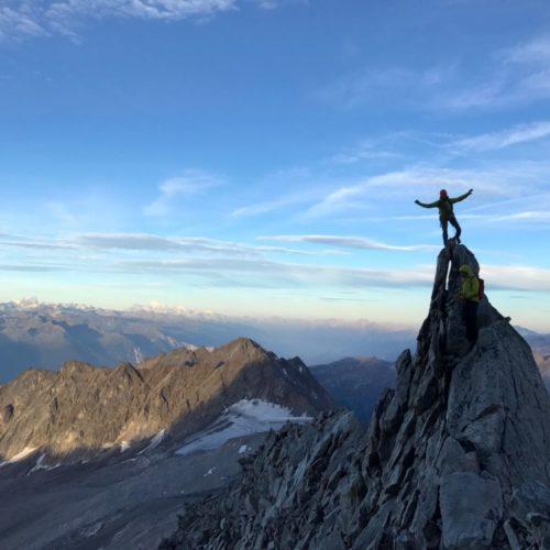 Bietschhorn (3934m) arête W